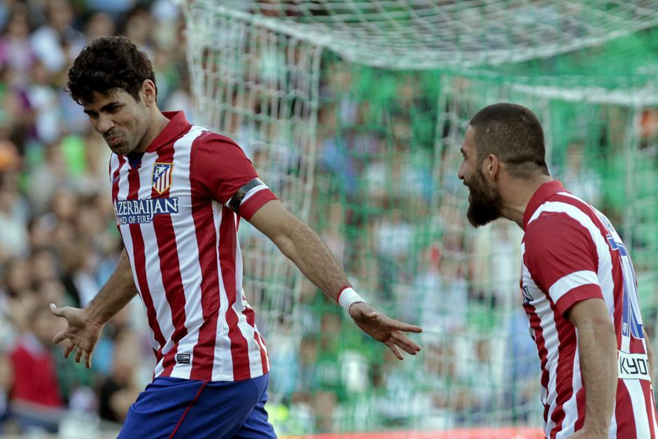 Diego Costa es el goleador de los colchoneros esta temporada