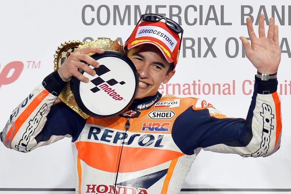 Márquez es el actual campeón mundial de Moto GP