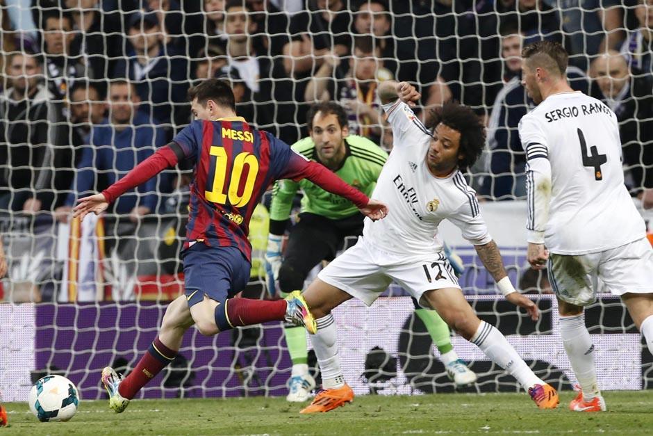 Lionel Messi destacó el trabajo que el Barcelona realizó en el Bernabéu para derrotar al Real Madrid