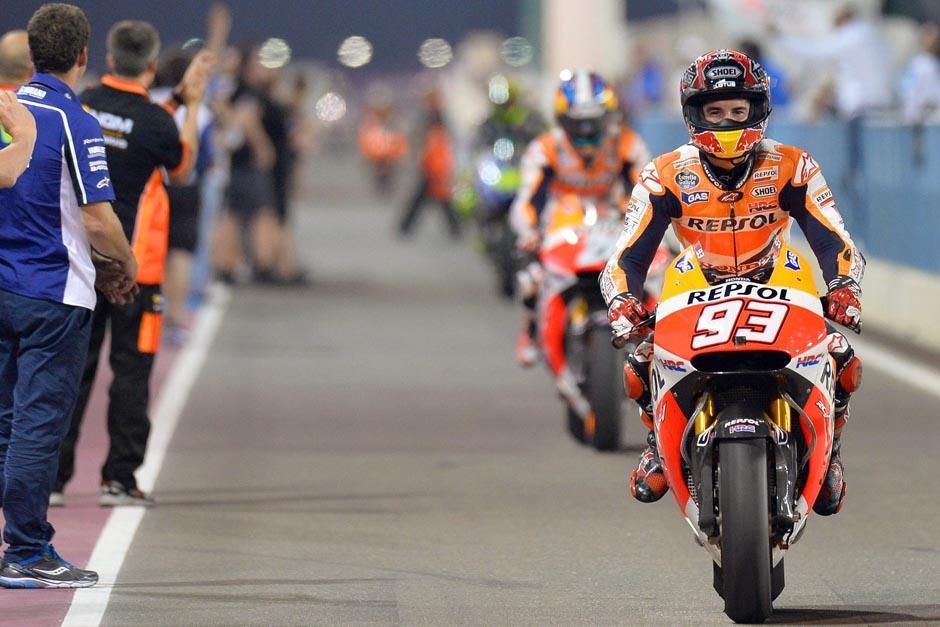 El campeón español acostumbra utilizar el número 93. (Foto: EFE)