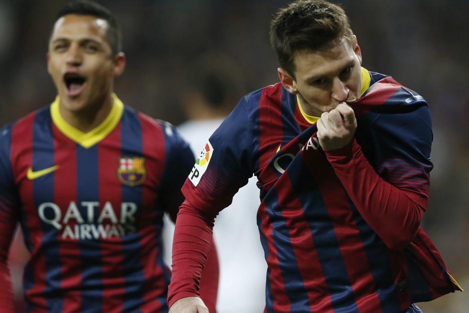 Lionel Messi es el único jugador que ha anotado dos tripletes en clásicos. (Foto: EFE)
