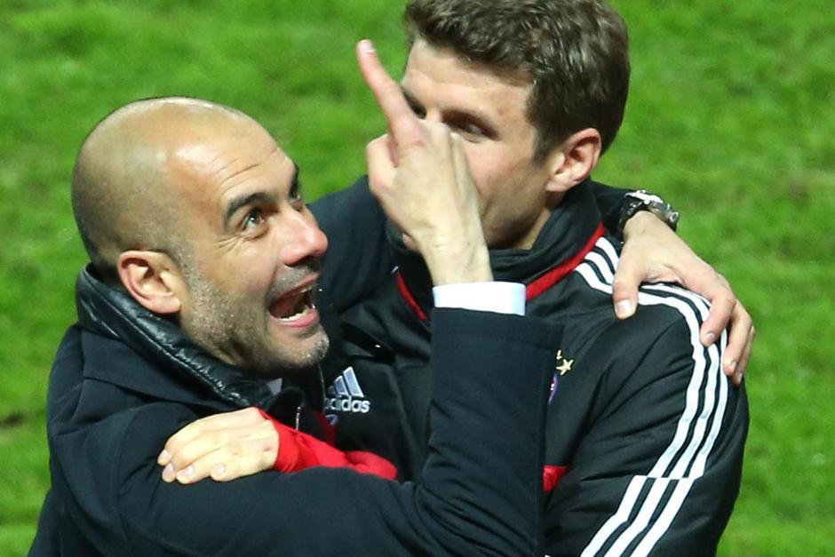 Joseph Guardiola ganó su primer título en Alemania consiguiendo un récord histórico. (Foto: EFE)