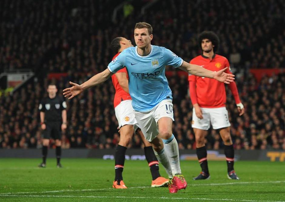 Manchester City, golea al Manchester United