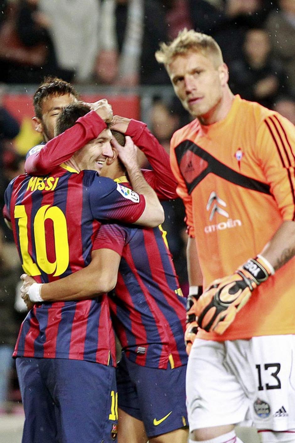 Neymar anotó el primer gol del juego al minuto 6. (Foto: EFE)
