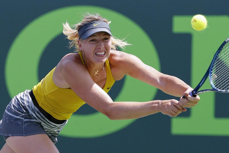 Sharapova cayó ante Williams en las semifinales. (Foto: EFE)