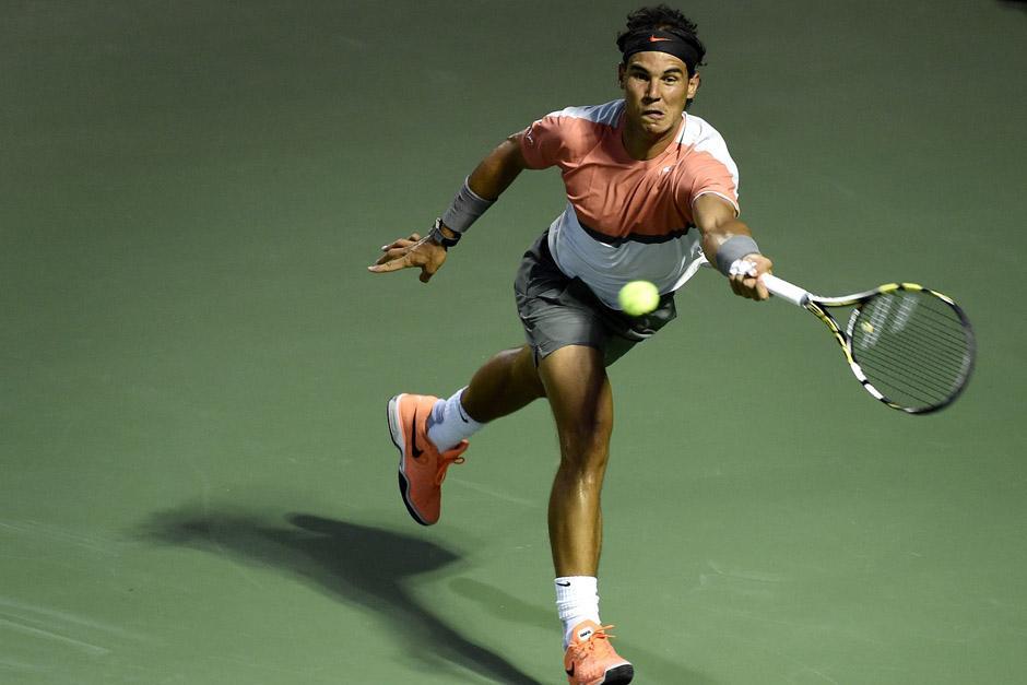 Nadal se medirá ante Berdych en las semifinales del Abierto de Miami, un torneo que aún no ha ganado en su carrera. (Foto: EFE)