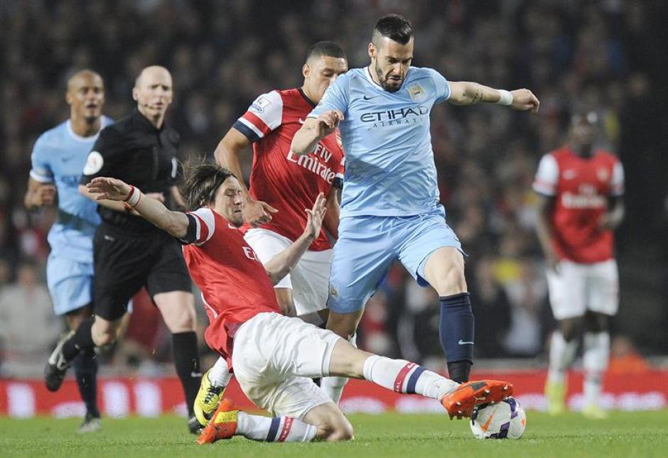 Arsenal empata con el Manchester City
