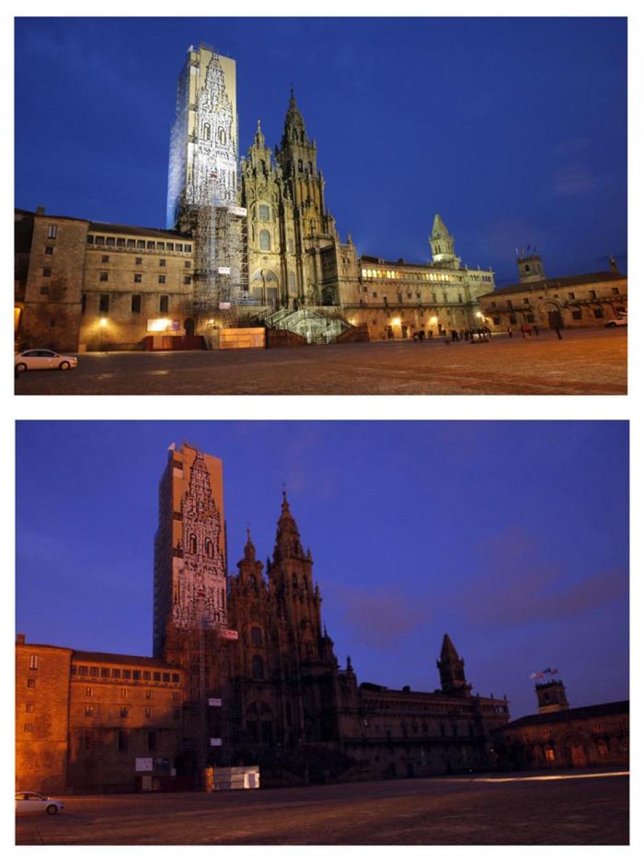 La catedral de Santiago de Compostela, España. (Foto: EFE)
