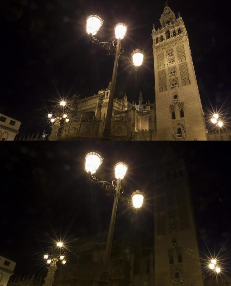 La catedral y la Giralda de Sevilla. (Foto: EFE)