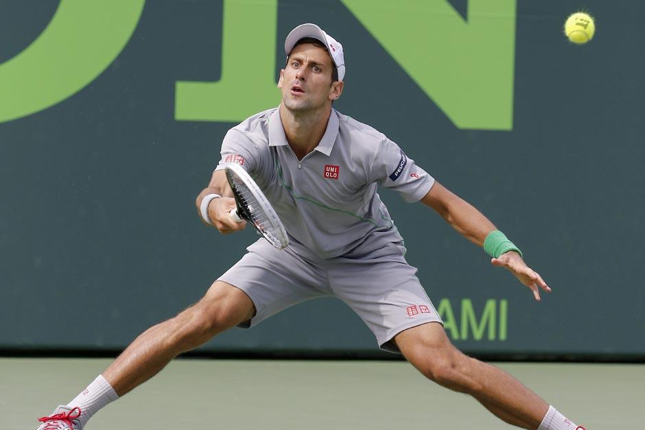A pesar de la victoria, el serbio sigue en el segundo puesto del escalafón mundial de la ATP, solamente detrás de Nadal. (Foto: EFE)