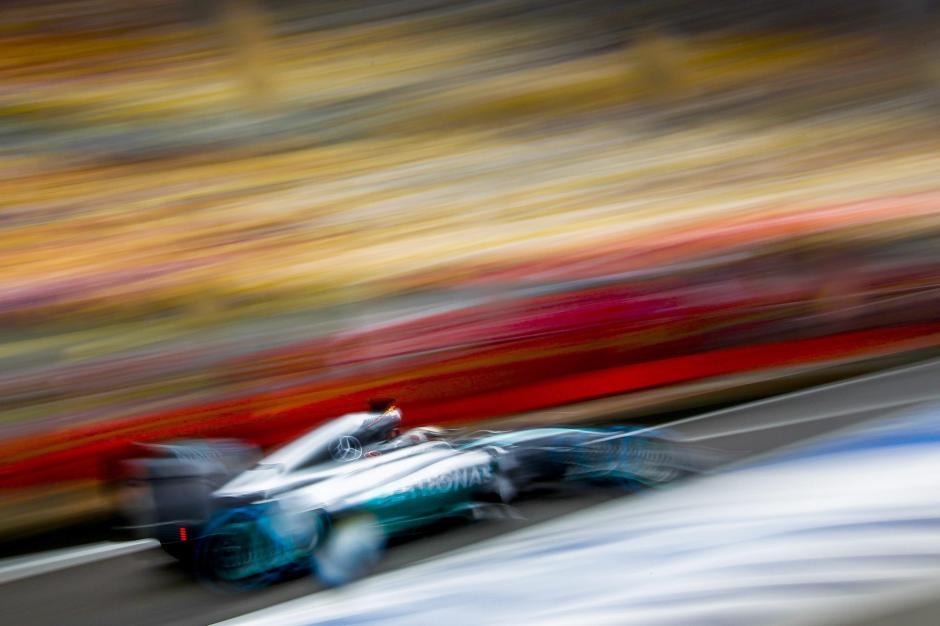 Lewis Hamilton de la escudería Mercedes Benz. (Foto: EFE)