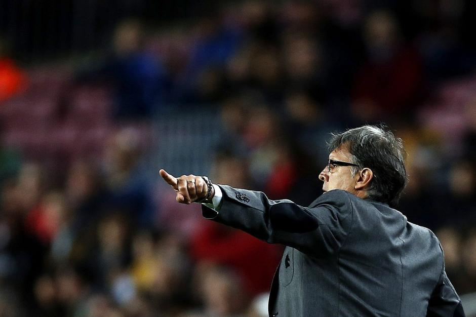 """El """"Tata"""" Martino no ha podido decifrar el juego del Athletic de Bilbao. (Foto: AFP)"""