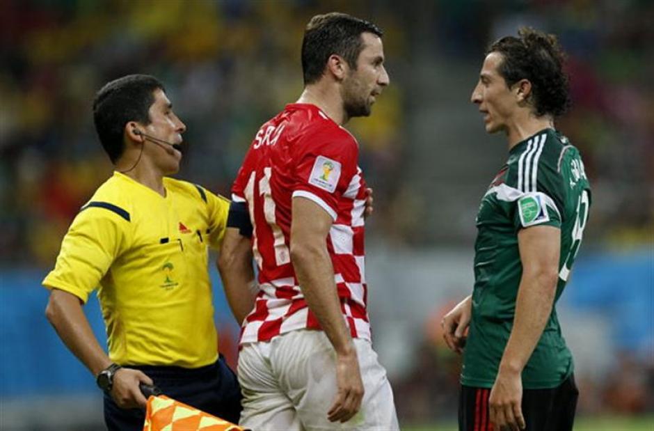 A Darijo Srna no le gustó la falta que le hizo el mexicano. (Foto: EFE)