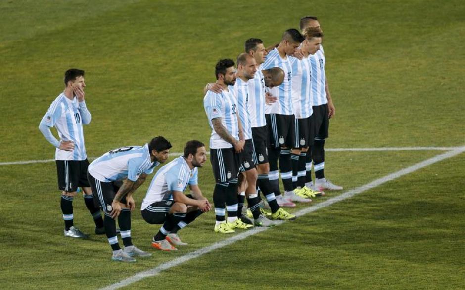 Así sufrió Argentina en los penales. (Foto: EFE)