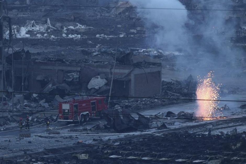 Las explosiones se registraron el miércoles y dejaron al menos 50 personas fallecidas. (Foto: EFE)