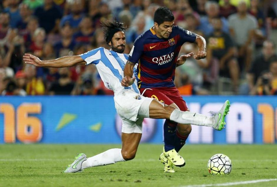 El uruguayo Luis Suárez fue uno de los que más buscó en la ofensiva de Barcelona.(Foto: EFE)