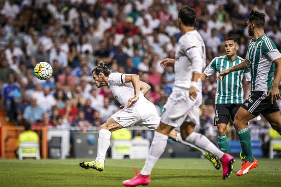 Pase de James y de cabeza concretó Bale.(Foto: EFE)