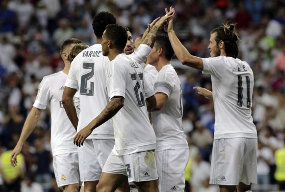 El Santiago Bernabéu festejó por primera vez en la temporada.(Foto: EFE)