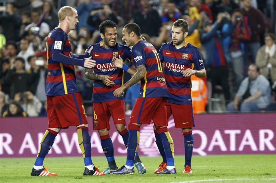 Barcelona llegó a 18 puntos y pelea el liderato de la Liga con Real Madrid.(Foto: EFE)