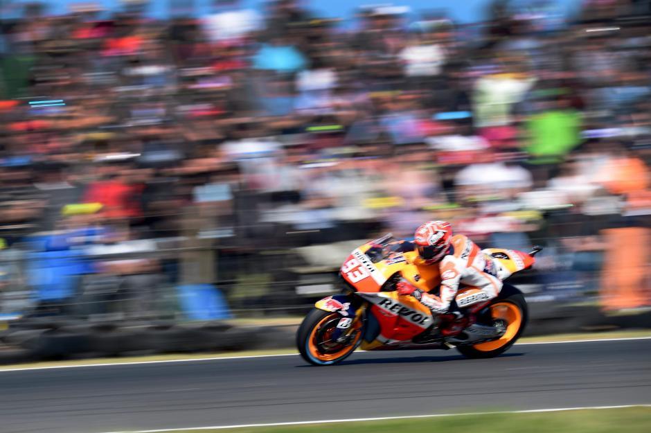 Marc Márquez celebró un nuevo triunfo en el campeonato mundial de Moto GP