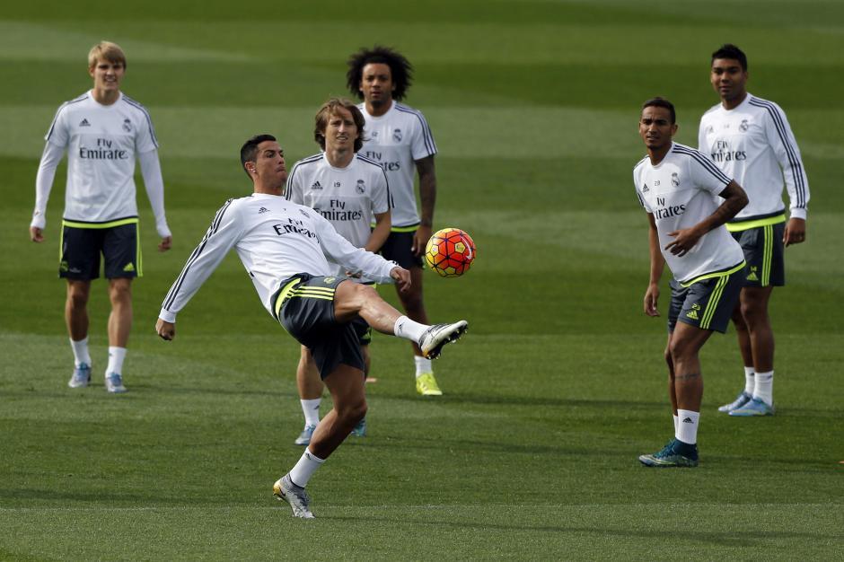 Real Madrid previo a celta de vigo foto
