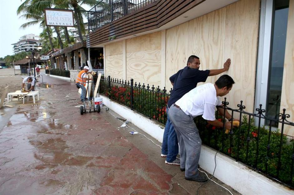 El huracán Patricia, anoche llegó a la categoría 5, la máxima en la escala de Saffir-Simpson. (Foto: EFE)