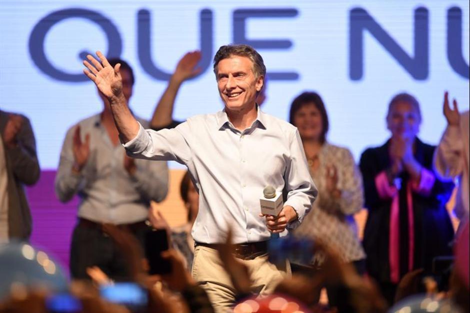 Mauricio Macri, el candidato presidencial de Argentina por la conservadora fuerza Cambiemos y Presidente electo de Argentina. (Foto: EFE)