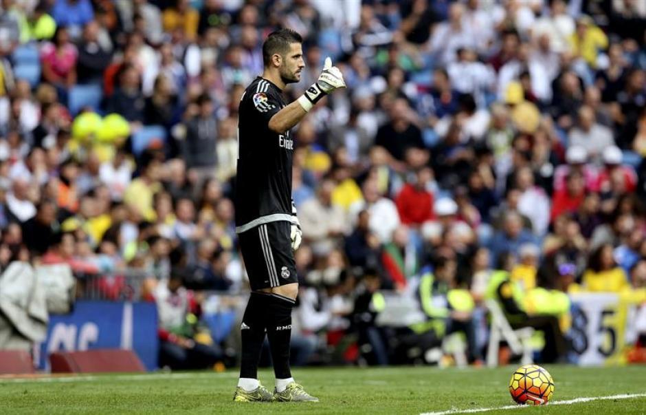 Kiko Casillas fue el portero titular de Real Madrid ante la ausencia por lesión del costarricense Keylor Navas.(Foto: EFE)
