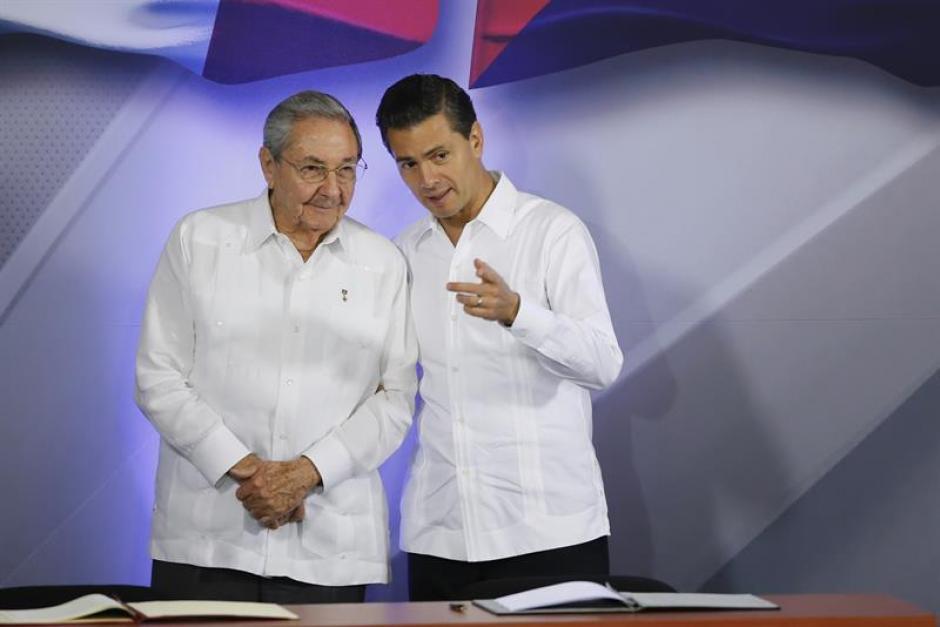 Los mandatarios, que se reunieron en Mérida, Yucatán, revisaron los principales temas de la agenda bilateral y regional. (Foto: EFE)