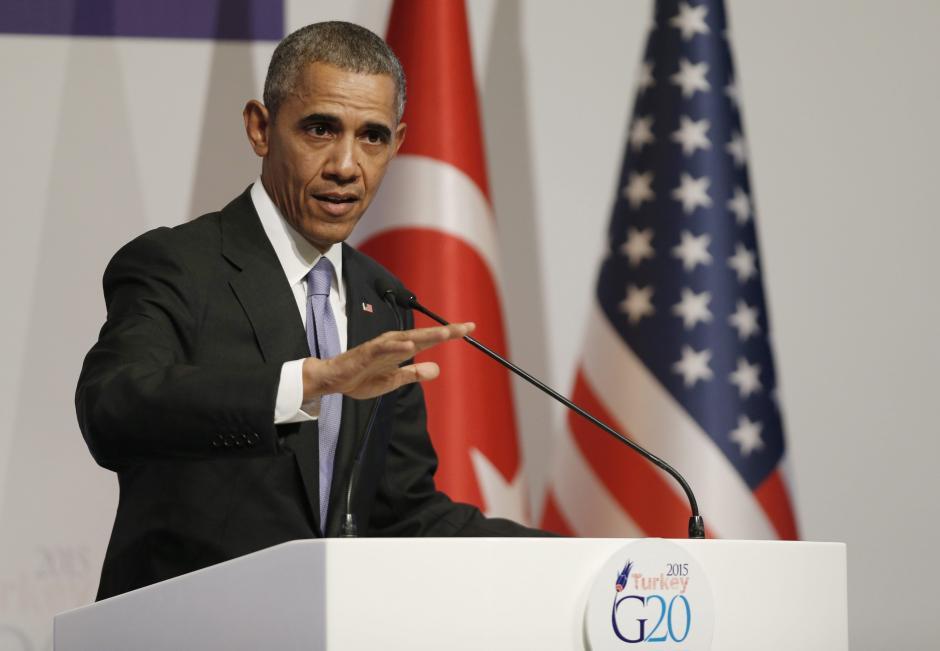 """Si Estados Unidos aumentase su presencia en Siria, """"por ejemplo, con 50.000 soldados, veríamos una repetición de lo de antes"""", asegura Barack Obama."""