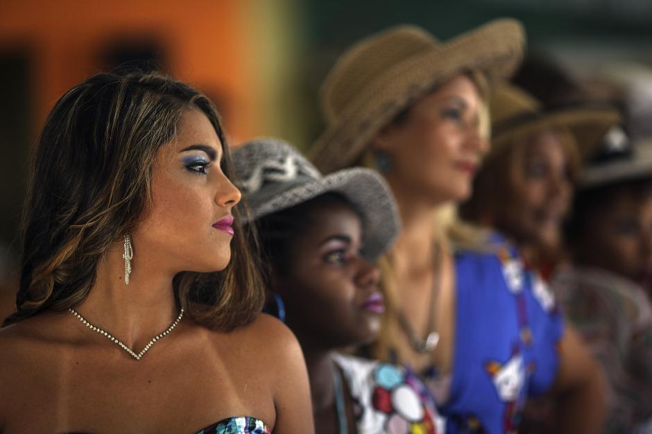 La peligrosa belleza de Miss Penitenciaria Brasil 2015. (Foto: EFE)