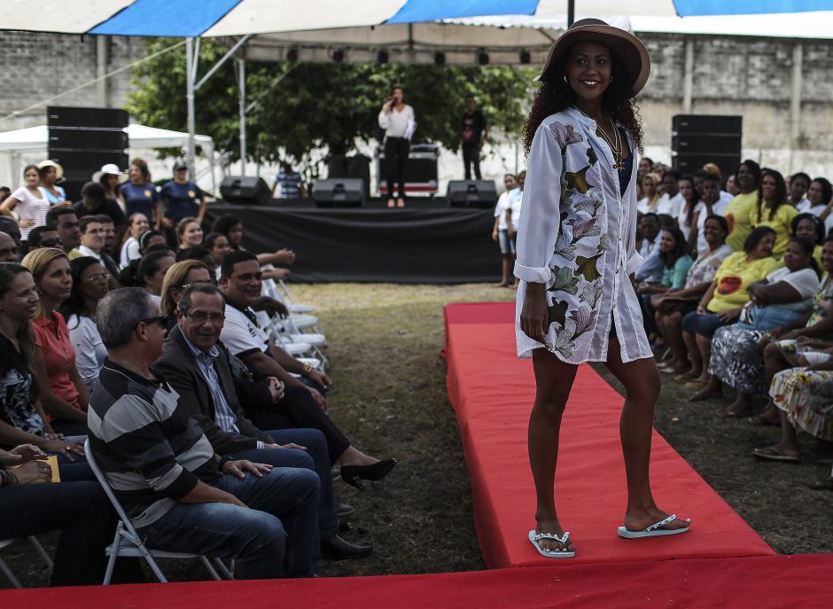 Las reclusas de un penal en Brasil participaron en Miss Penitenciaria 2015. (Foto: EFE)
