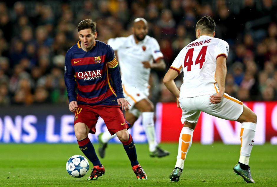 Lionel Messi volvió a jugar de titular luego de dos meses de ausencia. (Foto: EFE)