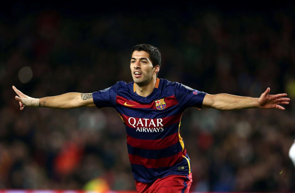 Luis Suárez marcó doblete y está a otro nivel en el Barcelona. (Foto: EFE)