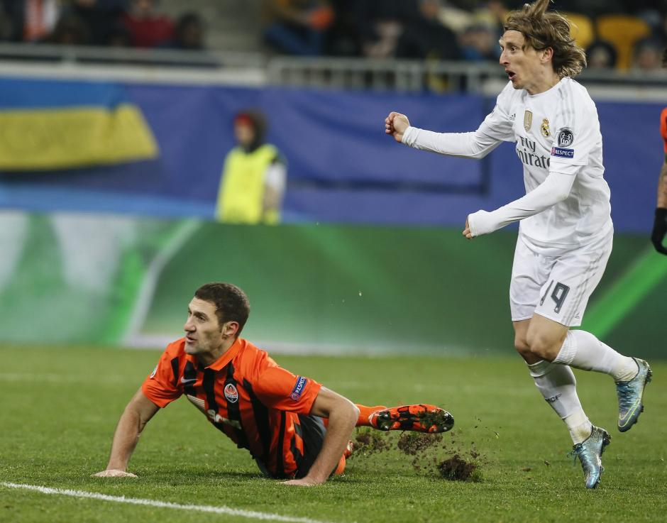 Shakhtar - Real Madrid foto 02