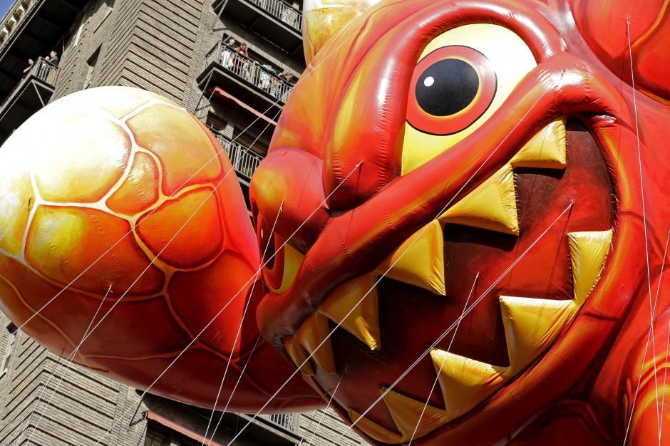 El desfile de Acción de Gracias en Nueva York. (Foto: EFE/Peter Foley)