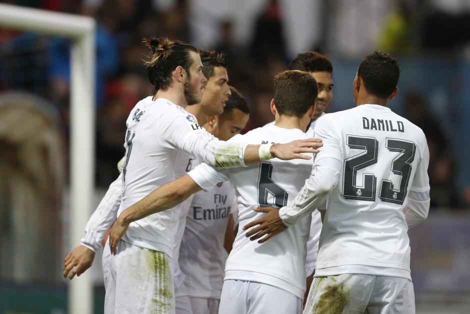 El Real Madrid con goles de Bale y CR7 venció al Eibar. (Foto: EFE)