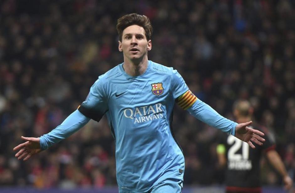 Con muchos goles está terminando el año Lionel Messi, en la Liga y en la Champions.(Foto: EFE)