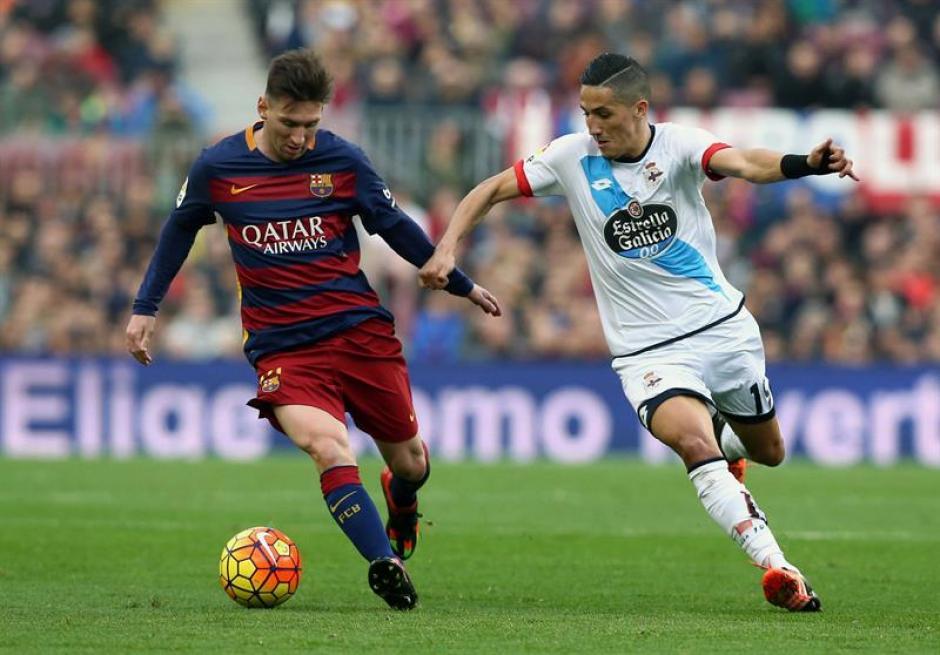 Barcelona ganaba con comodidad hasta el minuto 77, pero el Deportivo la Coruña, combativo, lo empató a cinco minutos del final. (Foto: EFE)