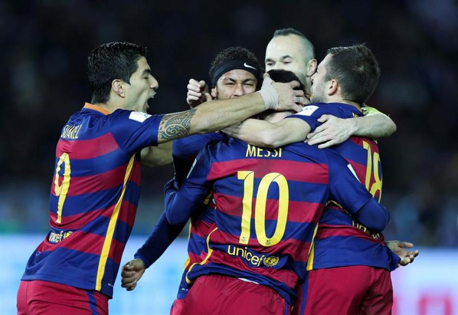 Barcelona goleó a River y ganó su tercer Mundial de Clubes. (Foto: EFE)