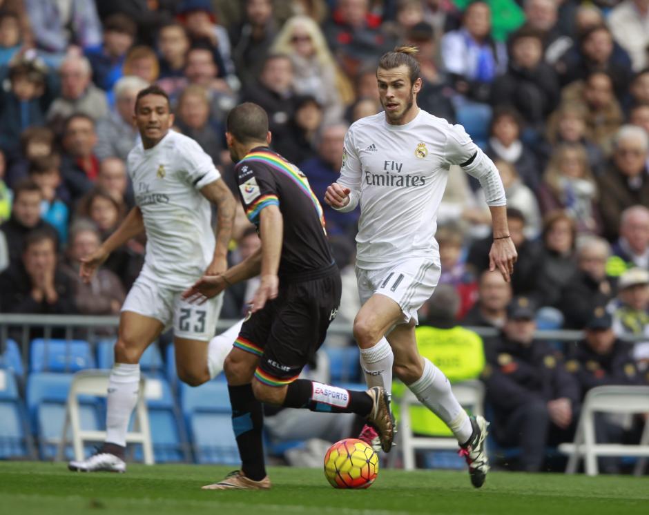Gareth Bale aportó al equipo que no tuvo problema al ganar con gran diferencia ante un Rayo Vallecano que sumo dos jugadores expulsados en el primer tiempo. (Foto: EFE/Victor Lerena)