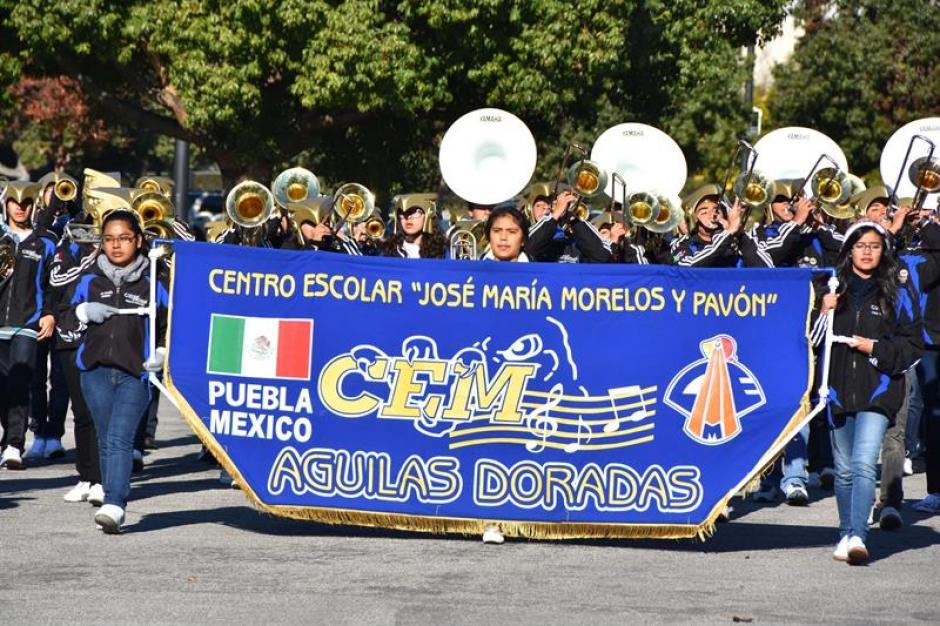 La comunidad latinoamericana se hizo presente en este evento que da inicio al año. (Foto: EFE)