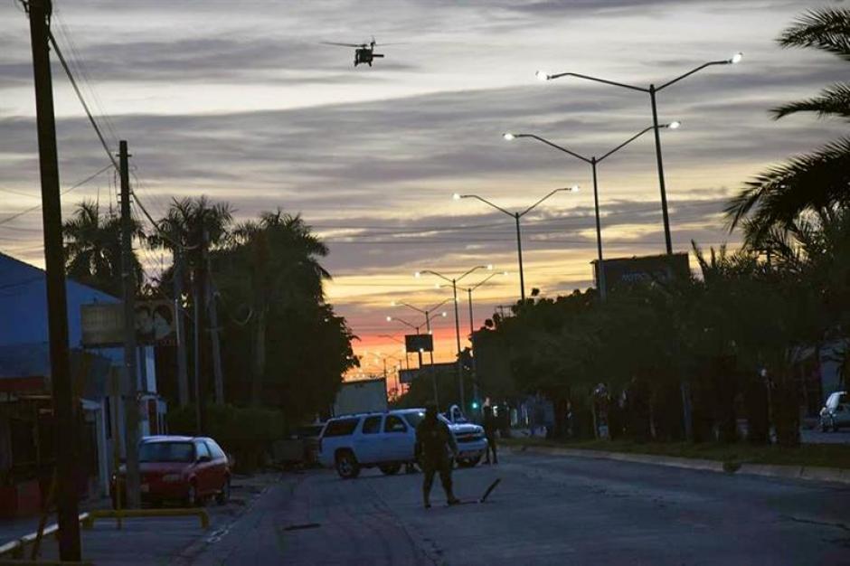 """El operativo en México fue a gran escala para poder capturar a Joaquín """"El Chapo"""" Guzmán. (Foto: EFE)"""