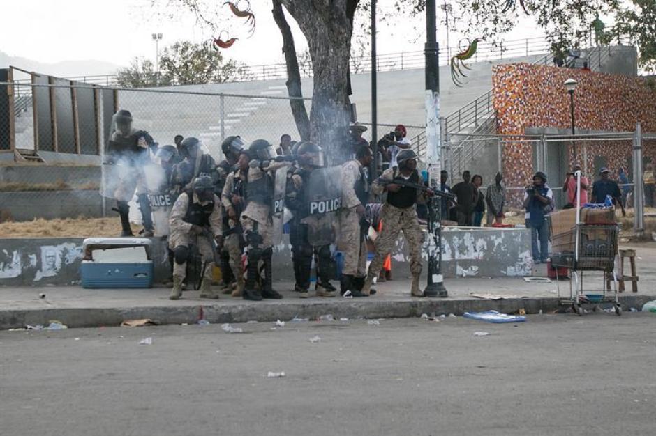 Los haitianos rechazaron violentamente el resultado de la primera vuelta de las elecciones en octubre pasado. (Foto: AFP)