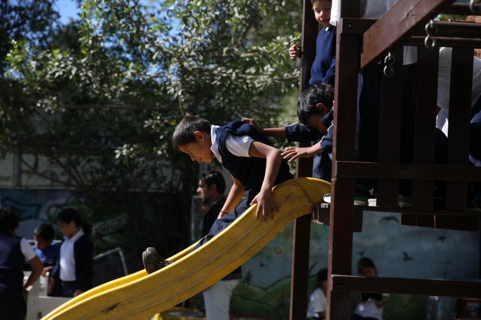 Hay en Guatemala una escuela a la que sólo asisten los chicos a los que ya no quiere nadie. (Foto: Esteban Biba/EFE)