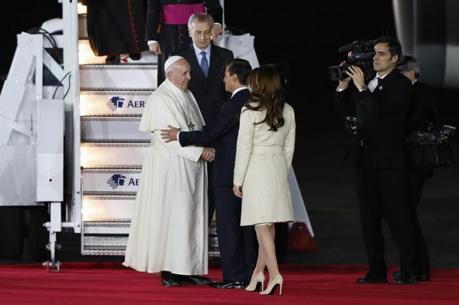 El papa Francisco ya se encuentra en México, para su visita de cinco días. (Foto: EFE)