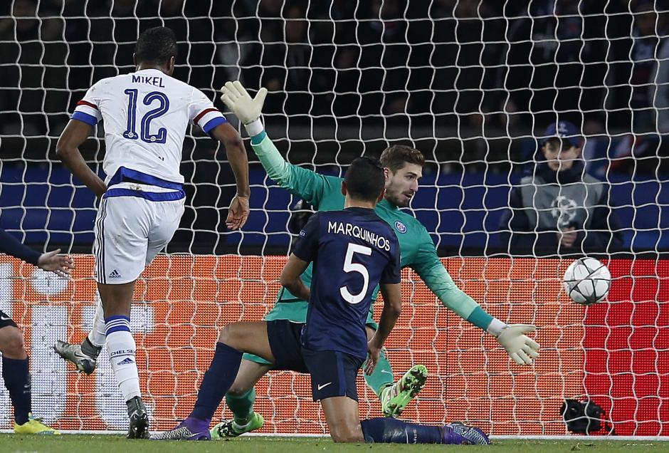John Obi Mikel marcó el gol de Chelsea. (Foto: EFE)