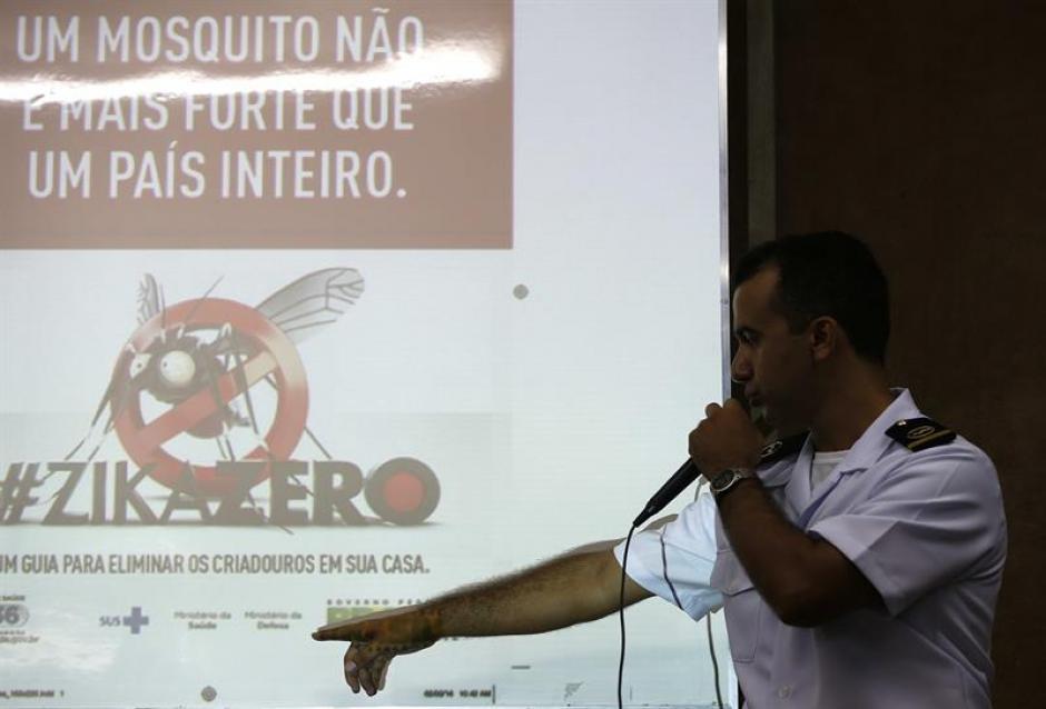 Las campañas de información son constantes en toda la región. (Foto: EFE)