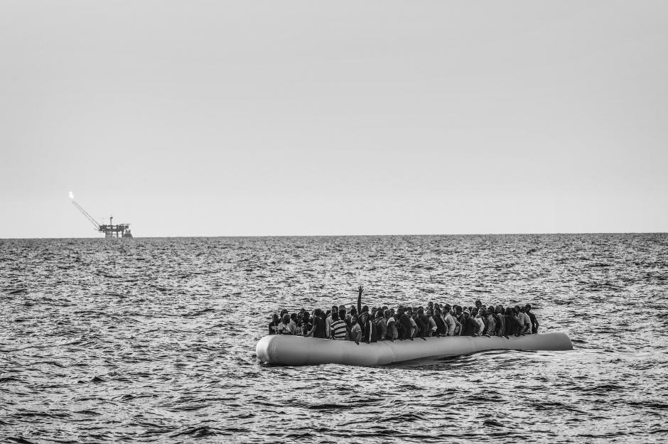 Fotografía de la serie Historias tomada por Francesco Zizola para Noor, que han sido galardonada con el segundo lugar, en la categoría de Asuntos Contemporáneos. (Foto: EFE/FRANCESCO ZIZOLA)