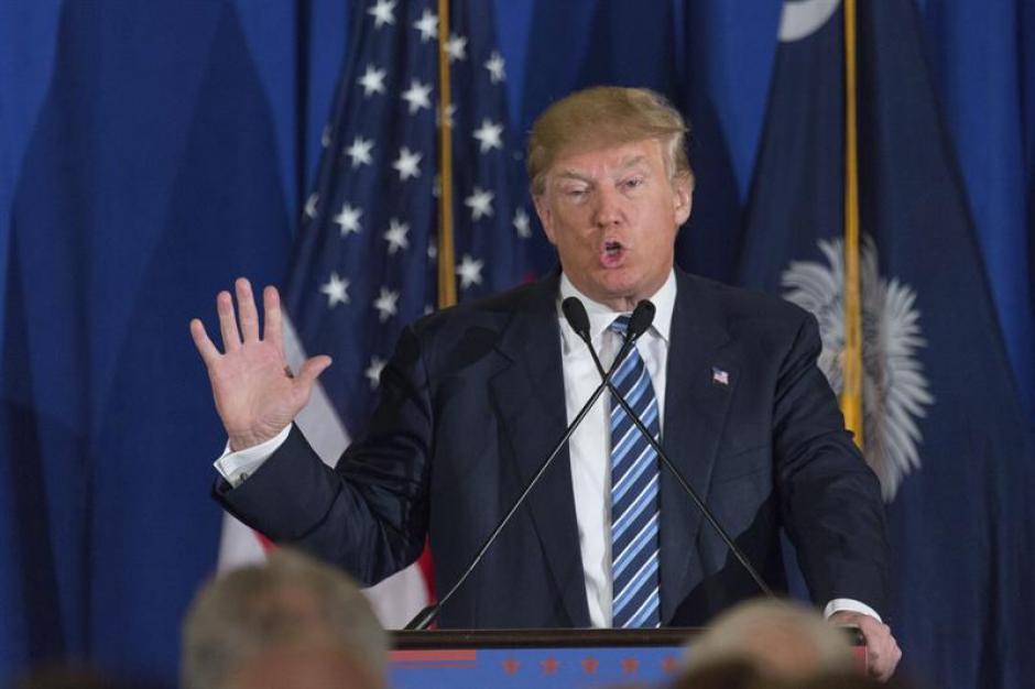 Donald Trump aspirante republicano a la presidencia estadounidense. (Foto: EFE)